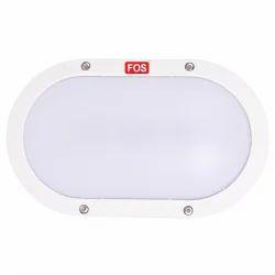 Aluminium FOS LED Bulkhead Light 10W (IP65 Water-Proof) - Wall/Ceiling Mountable