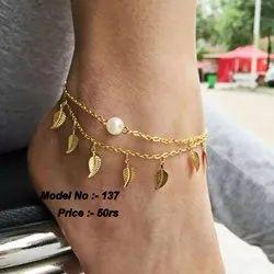 Alloy Unique Artificial Anklets