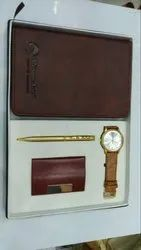 Sipper  Diary Pen Watch Card Holder Gift Set