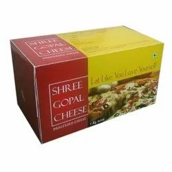 Type: Box Shree Gopal Processed Cheese, Buffalo Mik, Packaging Size: 1 Kg