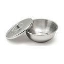 Stainless Steel Bowl With Cover