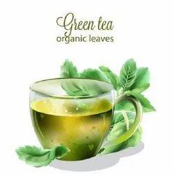 Leafy Organic Green Tea, Assam, Packaging Type: Packet