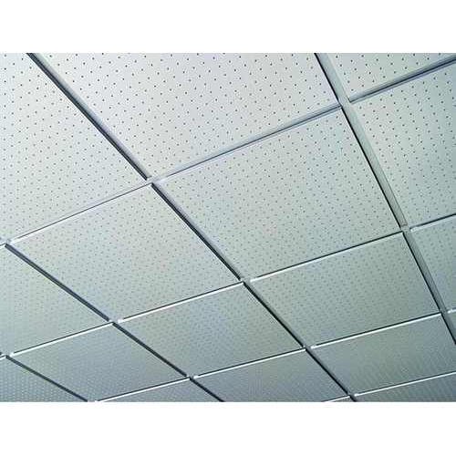 Concealed Grid Ceiling, Thickness: 1 mm
