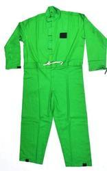 Safety Dangri Suits Green Color