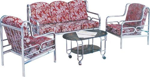 Steel Furniture Stainless Steel Dining Set Manufacturer From Mumbai