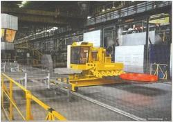 Railbound Furnace forging manipulator