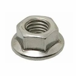 Hexagonal SS Flange Nut, Packaging Type: Box, Thickness: 2-6 Mm