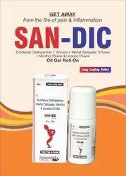 Rollon,Diclofenac Diethylamine Methyl Salicylate W/w Menthol Linseed Oil Benzyl Alcohol