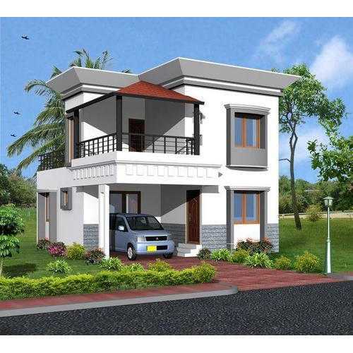 Independent House Exterior Designs In Choolaimedu, Chennai