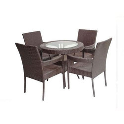 Aluminum Dining Table Set