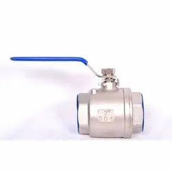 1 Piece Design Screwed End Ball Valve