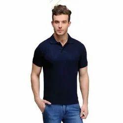 Polo Neck Cotton Plain Polo T-Shirt