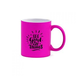 Matte Fluorescent Ceramic Sublimation Coffee Mug