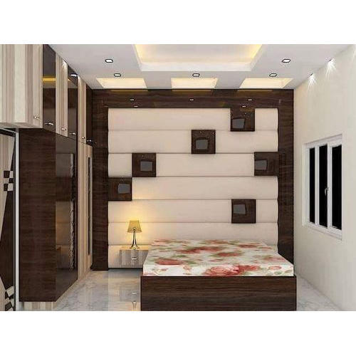 Wooden Design Bedroom Designing Service