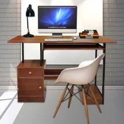 Kawachi Wooden Computer Executive Office Table