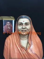 Marble Old Women Statue
