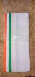 Cotton Tri Tiranga Gamcha, Size: 1.8 Meter