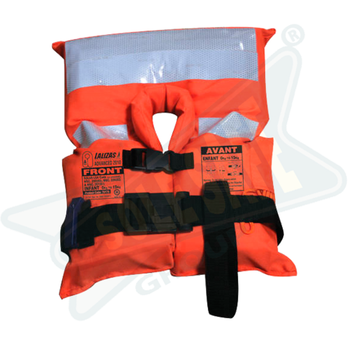 Lalizas Reflective Without Sleeves Advanced Infant Lifejacket Solas-(LSA Code) 2010 for Sea Patrolling