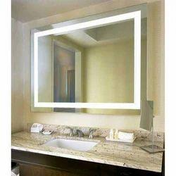 Bathroom Rectangular LED Mirror