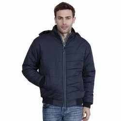 Polyester Casual Wear Mens Full Sleeves Jacket
