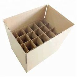 Cardboard Partition Corrugated Box, Upto 6 mm