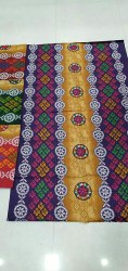 Full Length Cotton Battik Print Nighty Cloth, Large