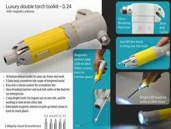 Luxury double torch Toolkit