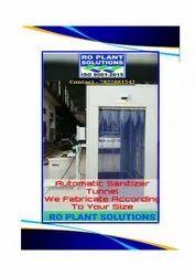 Sanitizer Spray Tunnel/Cabin, Size/Dimension: 7 x 14 x 8 feet