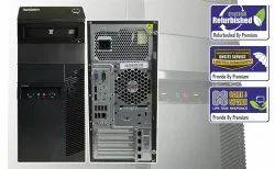 I7 Lenovo ThinkCenter M72e Tower (Desktop), Hard Drive Capacity: 500GB