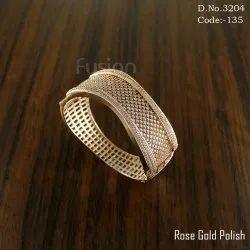 Rose Gold American Diamond Bracelet