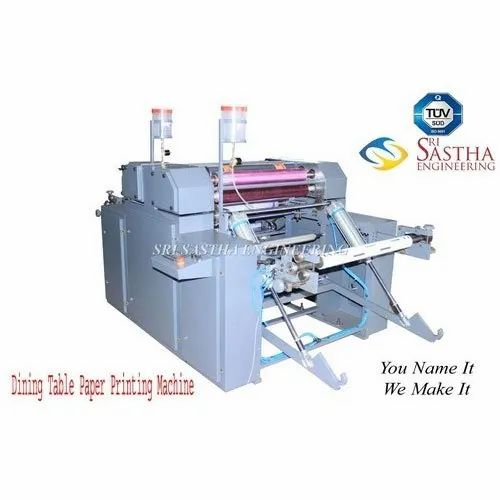 Dining Table Paper Printing Machine