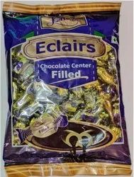 Chocolate Brown Eclairs Soft Toffee 50p, Packaging Type: Packet, Packaging Size: 100 Pcs In a Pouch