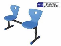 2 Seater Student Chair