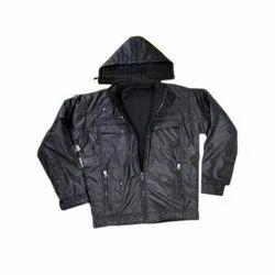 Full Sleeve Polyester Dubble Sided Jackets, Size: S-XXXL