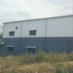Aluminium Industrial Shed Fabrication, Highway, Concrete