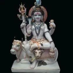 Marble Lord Shankar Statue