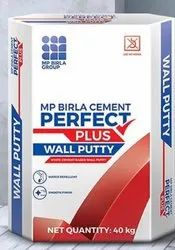 MP Birla Perfect Plus Wall Putty 30 KG, For Interior