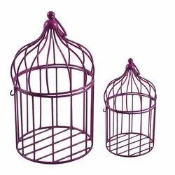 Pink Metal Cage, Size/Dimension: Standard
