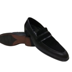 Mens Formal Black Leather Loafers