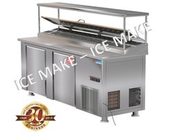 ICE MAKE double door Under Counter Refrigeration, Warranty: 1 Year, Capacity: 100 To 1000