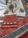 Ladies Designer Chanderi Suit Fabric