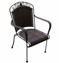 Metal Brown Designer Iron Chair, for Restaurant