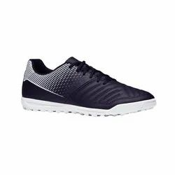 Kipsta Agility 100 HG Black and White Men's Football Shoes