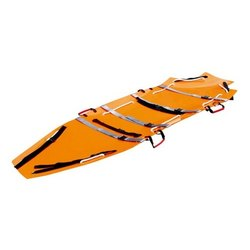 Yellow Single Rescue Stretcher, Packaging Type: Company Packing, Size: Length 205 CM X width 55 cm