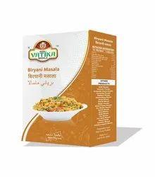 vatika Biriyani Masala, Packaging Size: 50 gm,100 gm 20 kg bag, Packaging Type: box and bag