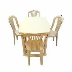 Plastic Cello Sleek Chair With Senator Table Rs 4650 Set Vijay Deals Id 21268431462