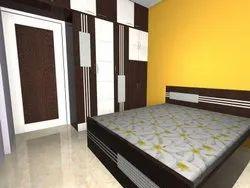Modern Laminate Finish Modular Bed