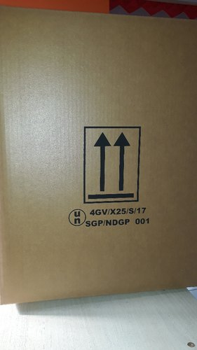 UN Certified Fiberboard Corrugated Boxes