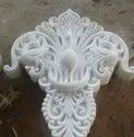 White Marble Peacock Carving Work