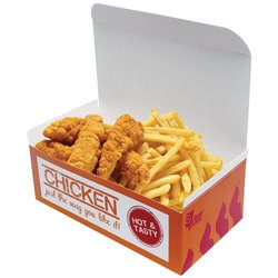 4 Piece Fried Chicken Packaging Box